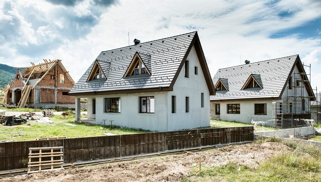 Small new houses